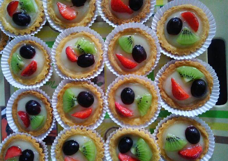 Resep Pie buah Bikin Jadi Laper