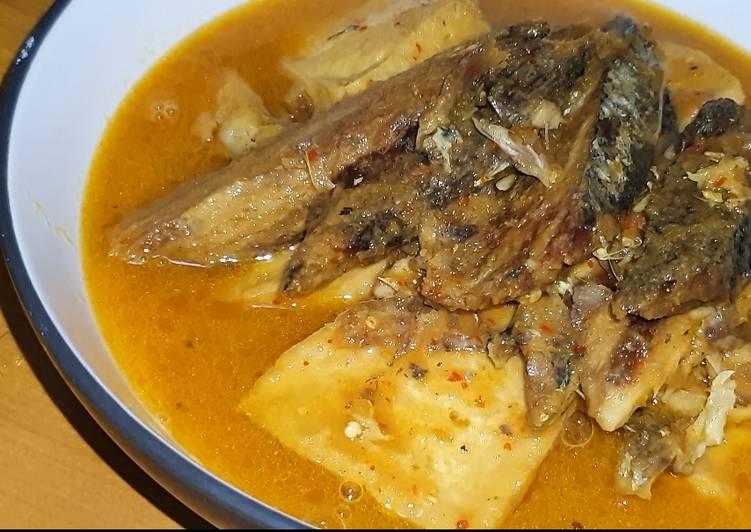 Mangut Ikan Tongkol