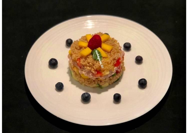 Salad sehat (menu Berbuka Puasa, makan siang /makan malam)
