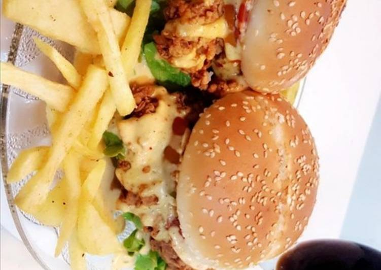 Step-by-Step Guide to Make Favorite Zinger burger