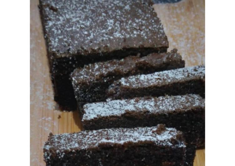resep membuat Bolu ketan hitam panggang (GF/Gluten free) - Sajian Dapur Bunda