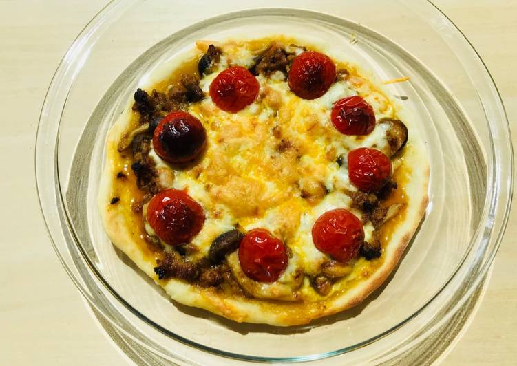 Ricetta Pizza al Curry☆