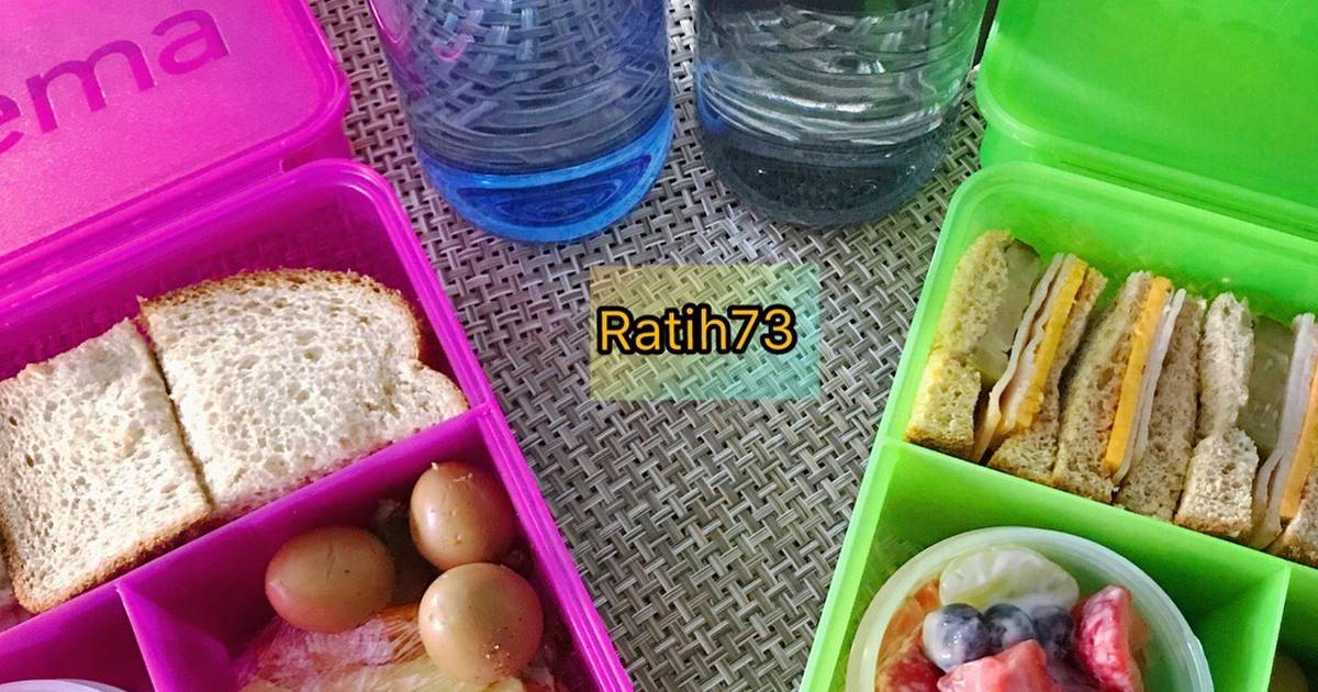 Resep Simple Sandwich Bekal Anak Oleh Ratih73 Indonesia Cookpad