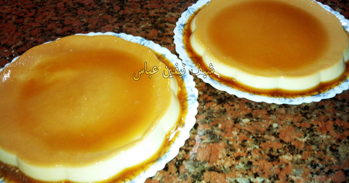 الكريم كراميل الأصلي بالصور من شيف نيفين عباس كوكباد