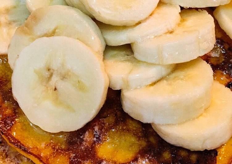 Cara mudah membuat Menu Diet Mayo – Day 7 (menu diet tapi makan pancake 😲)