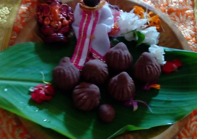 Chocolate mawa modak