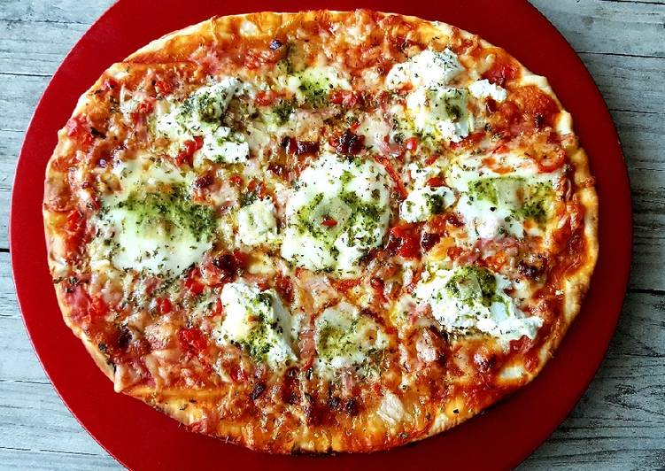 Pizza sin bordes di mío gradimento