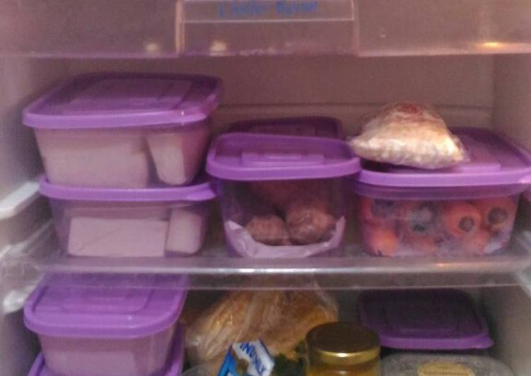 Tips menyimpan bahan di kulkas