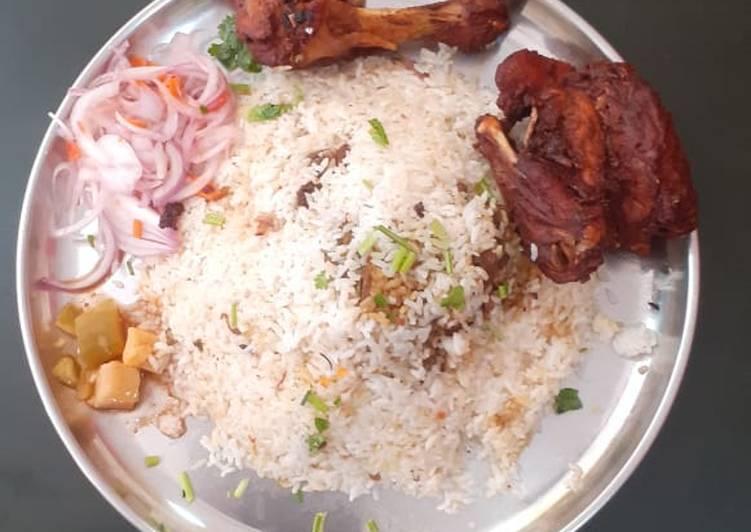 Steps to Make Speedy Chicken biriyani & chicken fry