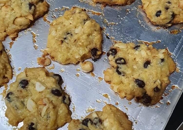 Original biskuit peanut & chocochips