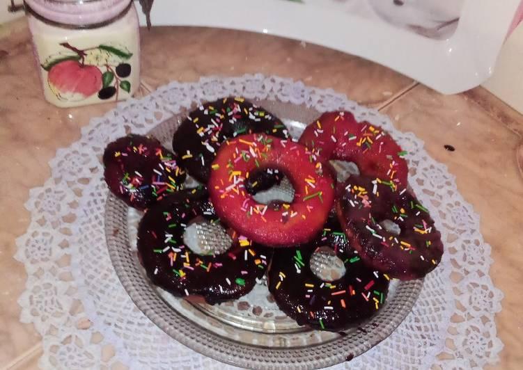 Cake donuts recipe
