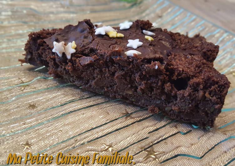 Recette Appétissante Gâteau choco/courgette