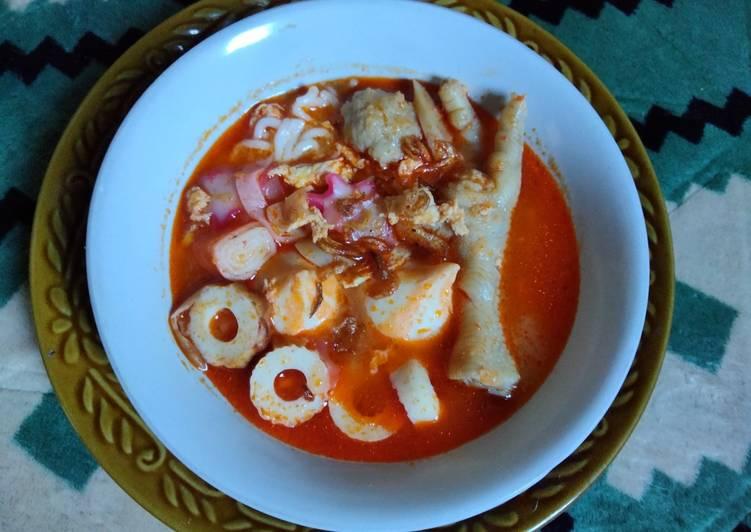 Seblak Seafood Paket komplit