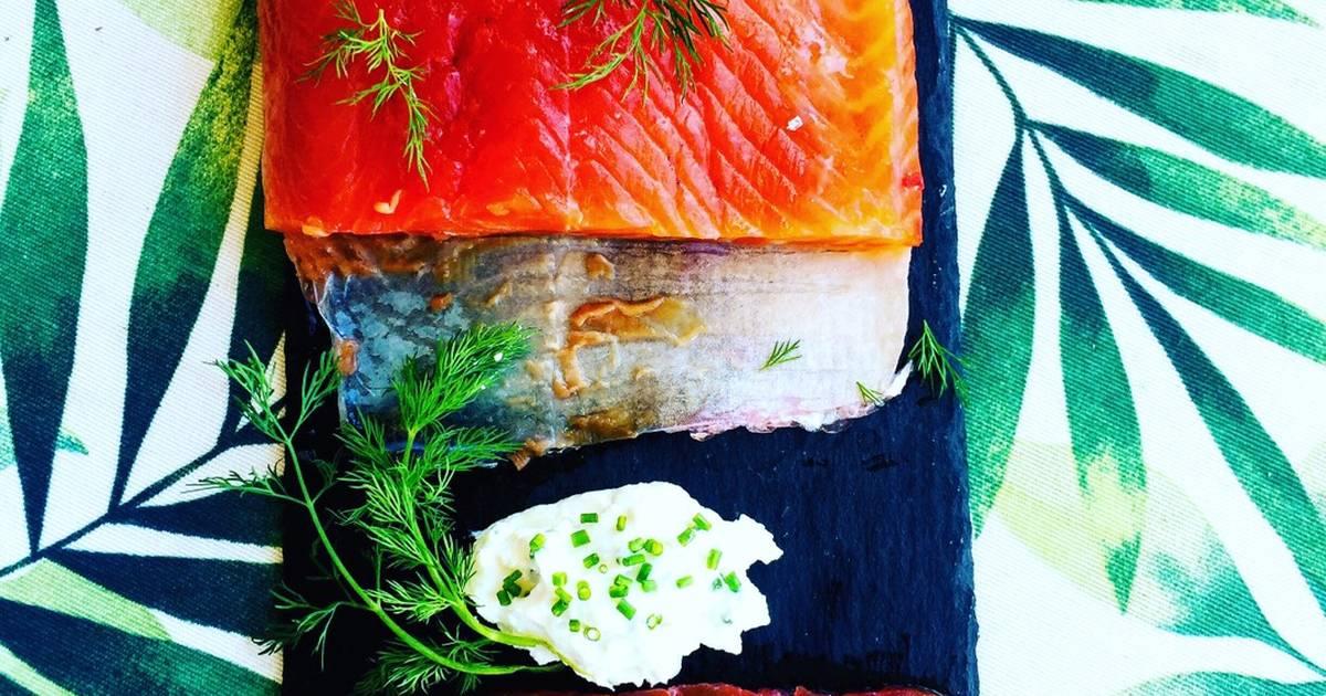 comer salmon crudo congelado