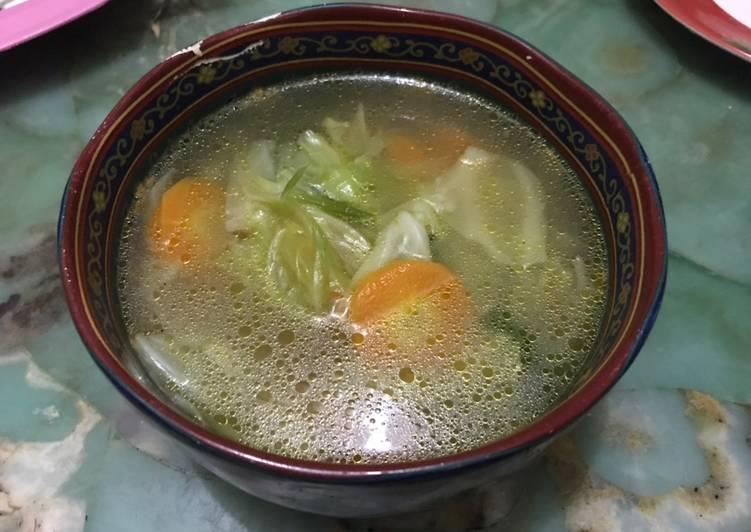 Sayur sop simpel seger