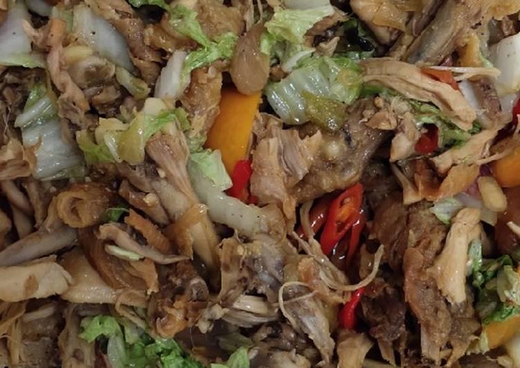 28. Gongso ayam khas kudus