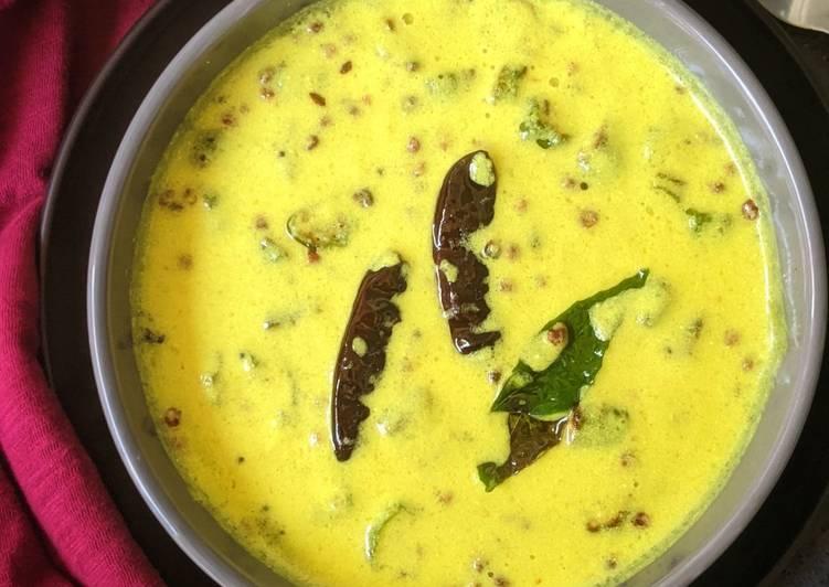 Recipe of Perfect Vendakkai Mor Kuzhambu