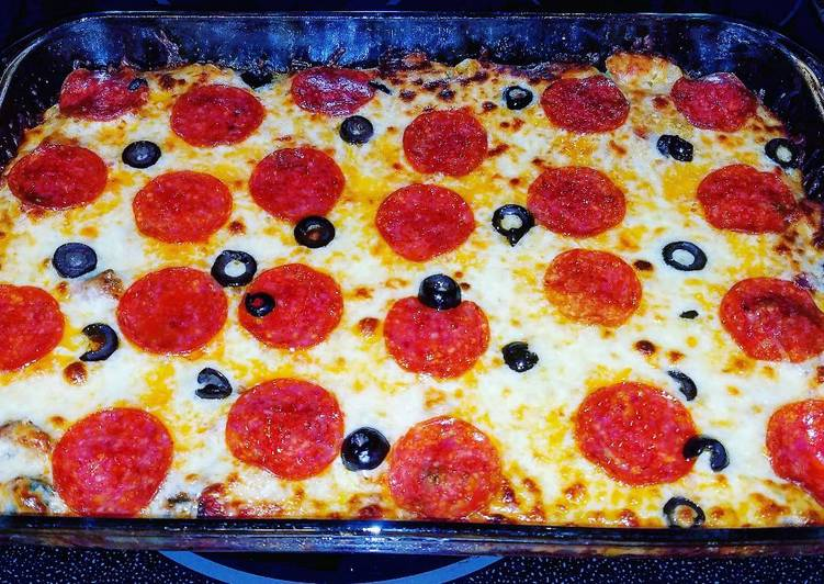 Step-by-Step Guide to Prepare Favorite Deluxe Pizza Casserole