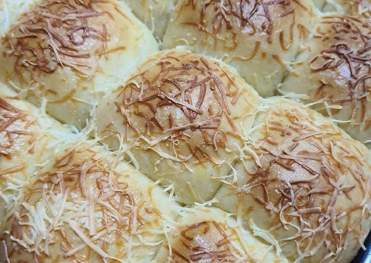 Roti kasur keju (ulen tangan 5 menit)