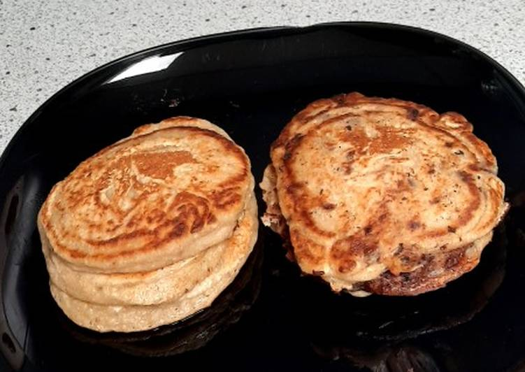 Recette Délicieuse Pancake banane-avoine