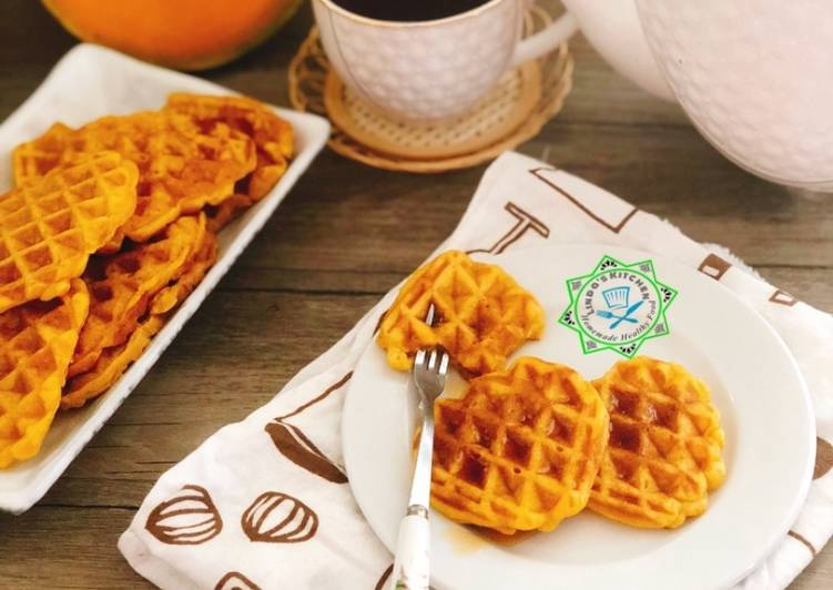 Steps to Prepare Ultimate Pumpkin Waffles