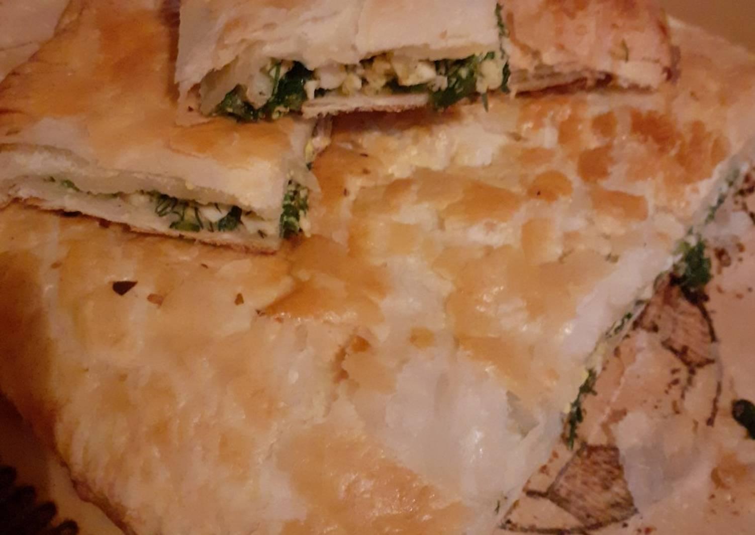 филе сначала слоеный пирог галета рецепт с фото середины готовой