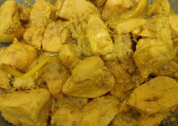 Ayam Ungkep Bumbu Kuning | Untuk Stock Kulkas | Low Kalori