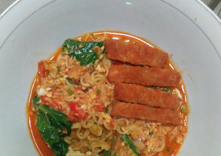 Resep Indomie Kuah (Soto Ayam) Paling Mudah