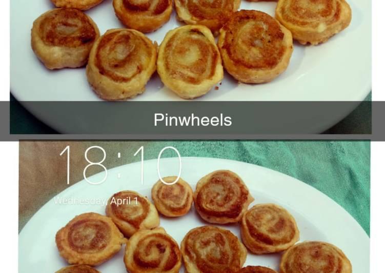 Potato pin wheel