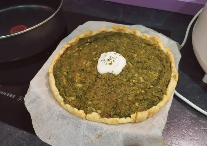 How to Prepare Yummy Vegan Spinach Pie