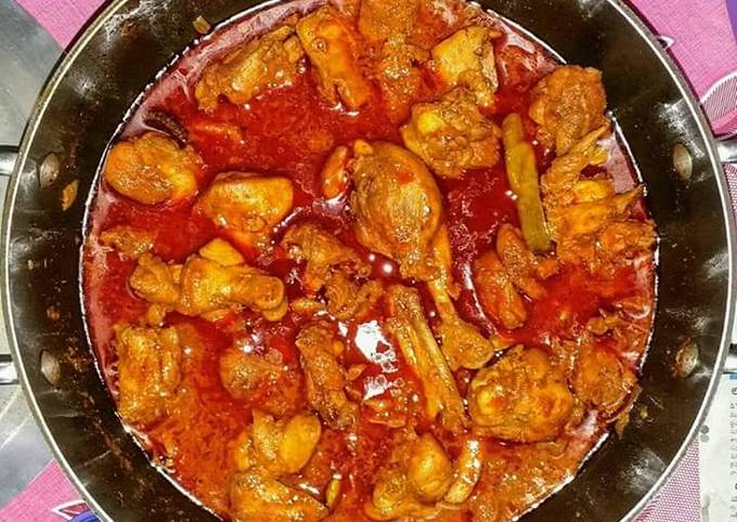 Mom's Quick chicken curry