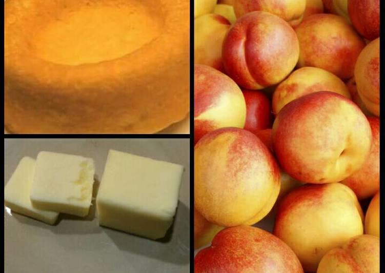 Nectarine Shortcake