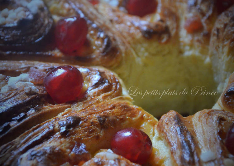 Brioche feuilletée façon gâteau des Rois