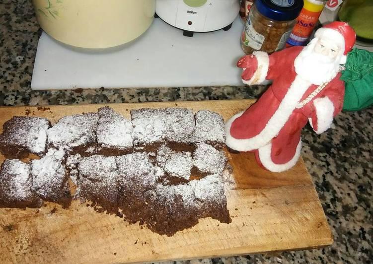 Fudge Brownies X'mas