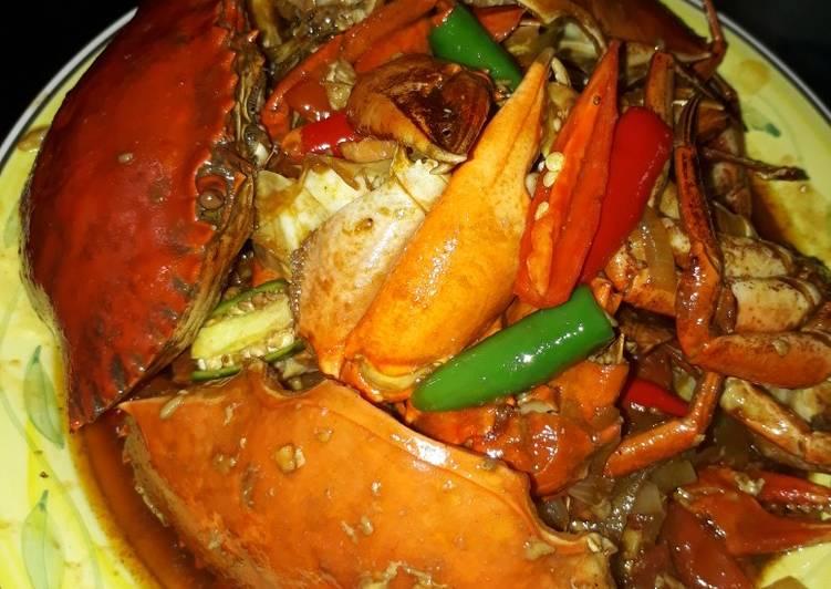 Resep Kepiting Saus Tiram Feat Asam Manis Ala Ku Tanpa Ribet Resep Dapur Mama