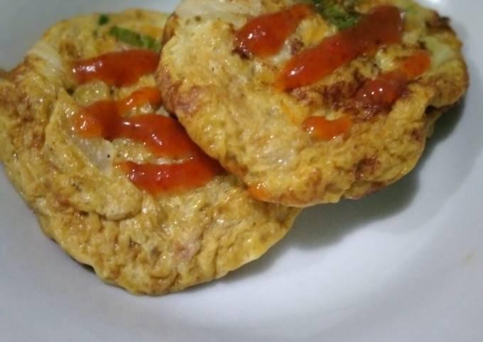 Omelet Mini (Isi Abon Tuna)