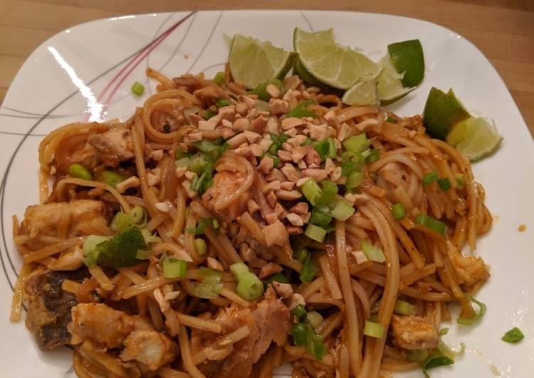 Beau's mahi mahi pad Thai