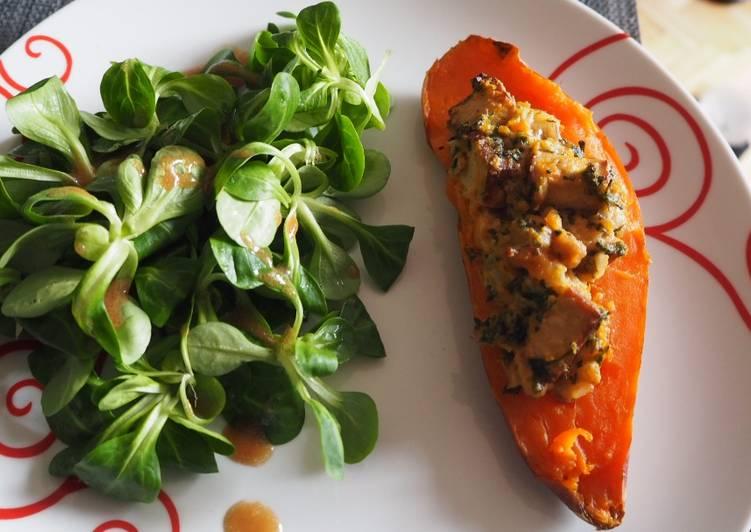 recette Patate douce fourrée aux marrons Le plus simple