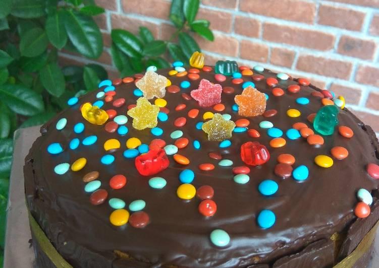 Sponge Cake Coklat