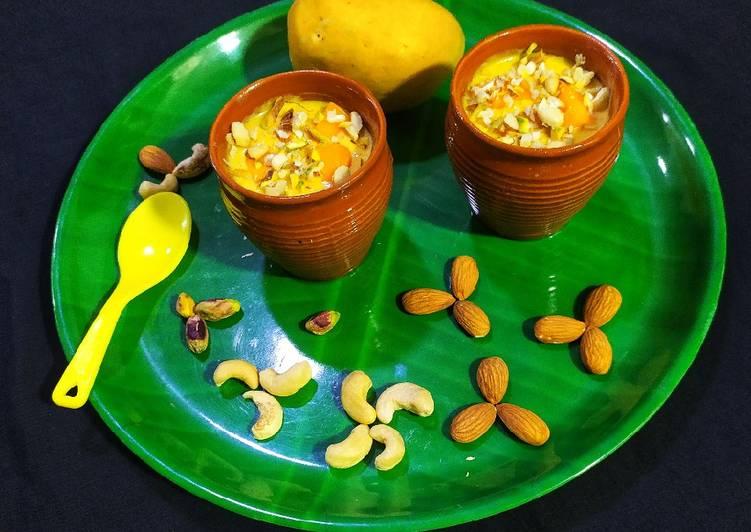 25 Minute Steps to Prepare Super Quick Homemade Mango Matka Kulfi