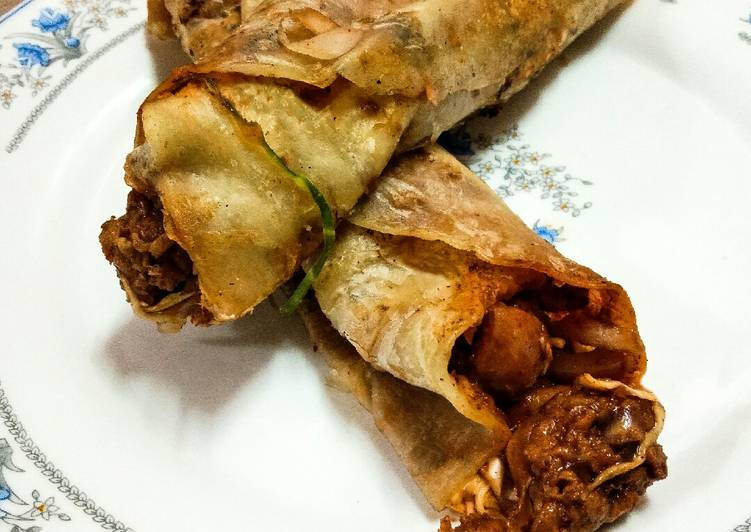 Step-by-Step Guide to Prepare Ultimate Chicken Manchurian Kathi Roll