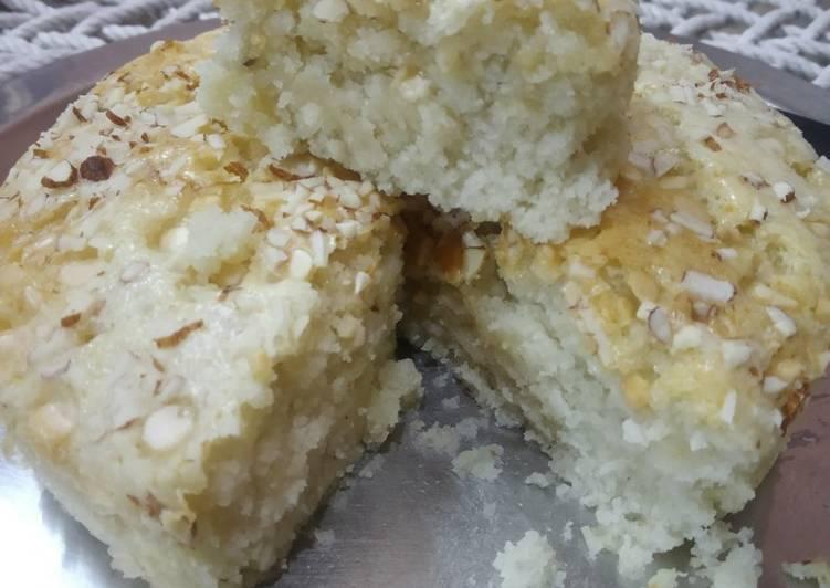 Basic eggless sponge cake