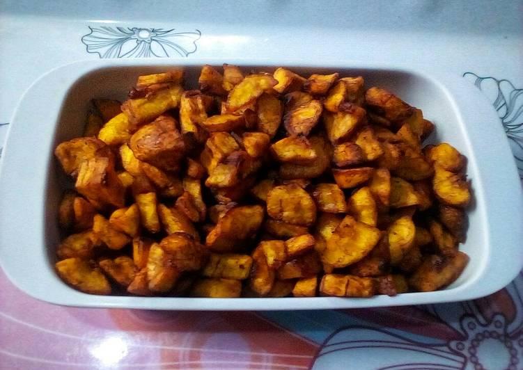 Recipe of Speedy Diced Plantain Snack