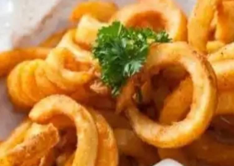 Mozerrella onion rings
