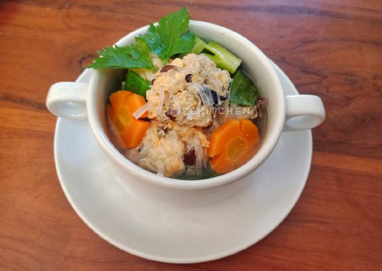 Bakso Ayam Serabut | Sup Lo Hoa