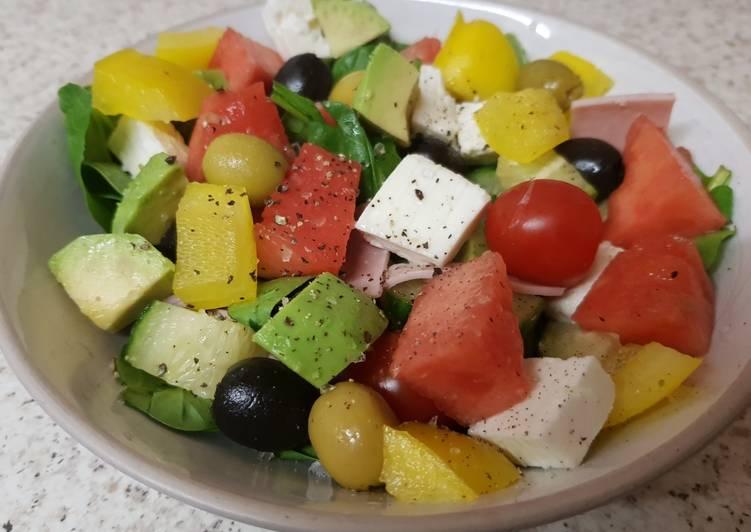 My Greek Style Salad. ?
