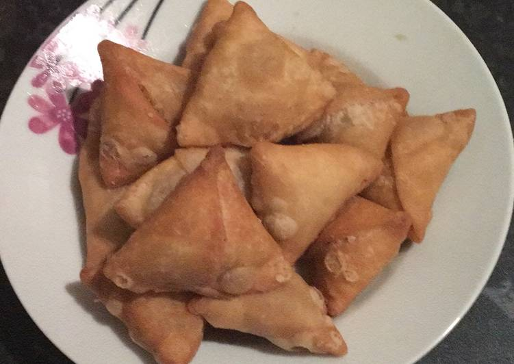 How to Make Top-Rated Peanut samosa