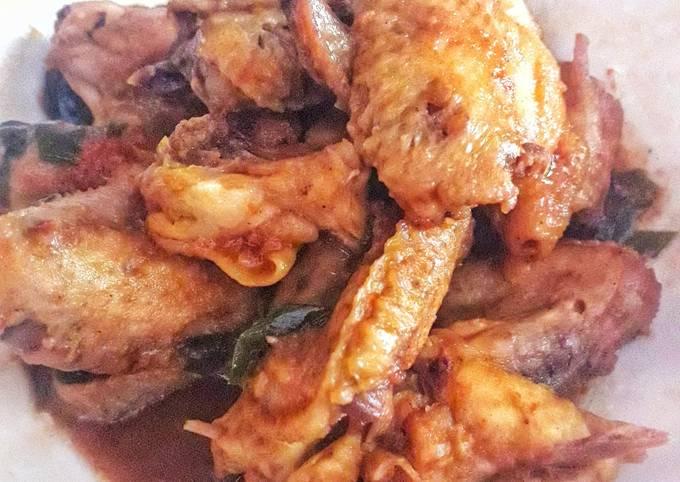 Ayam kecap inggris simple