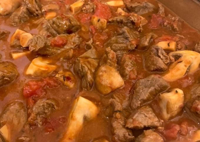 Braised Chilli Beef & Mushroom