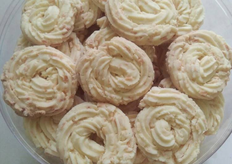 Resep Kue sagu keju lumerr lembut nya, Enak Banget